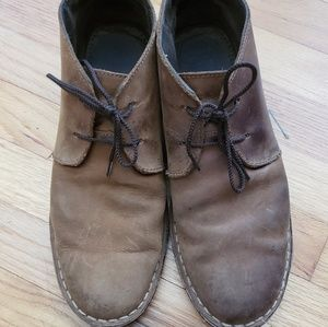 Other - Brown leather desert boots